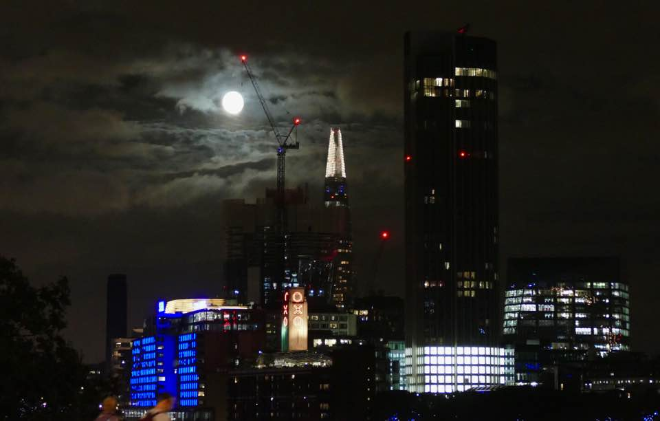 shard at night